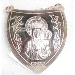 Ryngraf srebrny - Matka Boska Częstochowska