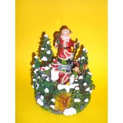 Pozytywka z Mikołajem i dwoma figurkami