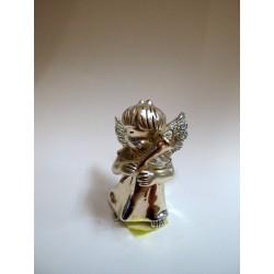 Srebrny Aniołek - figurka stojąca
