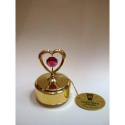 Pozytywka - figurka (złote serce)