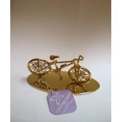 Złota figurka - rower