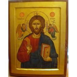 Ikona -  Jezus Pantokrator (32 x 24 cm)