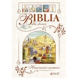 Biblia dla dzieci. Historia zbawienia w opowiadaniach (średnia)