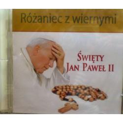 Różaniec z wiernymi - Święty Jan Paweł II