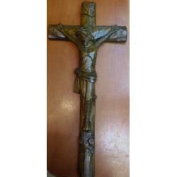 Krzyż drewniany ciemny (53 x 24 cm)