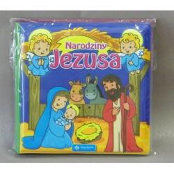 Narodziny Jezusa - książeczka do kąpieli