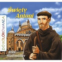 Święty Antoni - kolorowanka