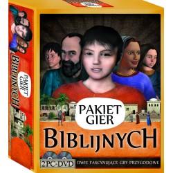 Pakiet gier biblijnych 2 x CD