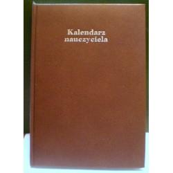 Kalendarz nauczyciela 2017/18 - twarda oprawa, brąz (21 x 15 cm)