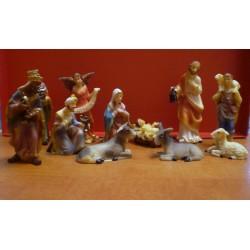 Zestaw figurek do szopki Bożonarodzeniowej