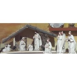 Szopka Bożonarodzeniowa porcelanowa (zestaw)
