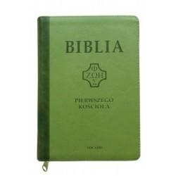 BIBLIA PIERWSZEGO KOŚCIOŁA JASNO ZIELONA