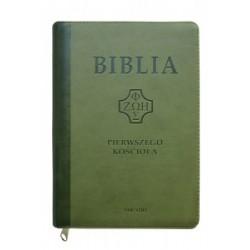 BIBLIA PIERWSZEGO KOŚCIOŁA CIEMNOZIELONA