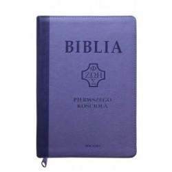BIBLIA PIERWSZEGO KOŚCIOŁA FIOLETOWA